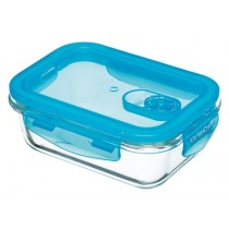 Buy the Pure Seal Glass Rectangular 600ml Storage Container online at smithsofloughton.com