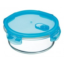 Buy the Pure Seal Glass Round 950ml Storage Container online at smithsofloughton.com