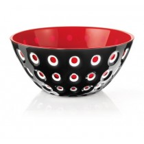 Buy the red Guzzini Le Murrine Bowl 25cm online at smithsofloughton.com