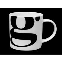 Buy the Repeat Repeat Mug Alphabet Initial G online at smithsofloughton.com