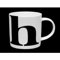 Buy the Repeat Repeat Mug Alphabet Initial H online at smithsofloughton.com