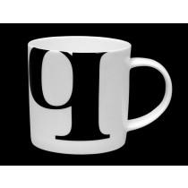 Buy the Repeat Repeat Mug Alphabet Initial Q online at smithsofloughton.com