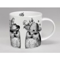 Buy the Repeat Repeat White Sunday Best Owls online at smithsofloughton.com