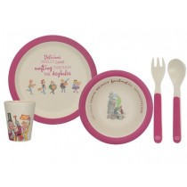 Buy the Roald Dahl Charlie And The Chocolate Factory Kids Dinner Set online at smithsofloughton.com