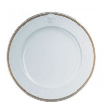 Buy the Rosenthal Versace Medaillon Meandre d'Or Side Plate 18cm online at smithsofloughton.com