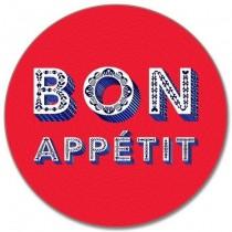 Buy the Round Jamida Asta Barrington Bon Appétit Red Table Place Mat online at smithsofloughton.com