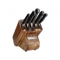 Buy the Sabatier Edgekeeper Self-Sharpening Acacia 5 Piece Knife Block online at smithsofloughton.com