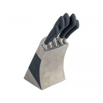 Buy the Sabatier Maison Stainless Steel 5 Piece Knife Block online at smithsofloughton.com
