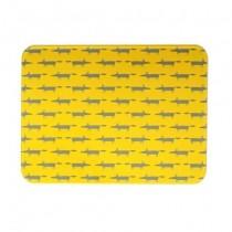 Buy the Scion Living Mr Fox Worktop Saver Yellow online at smithsofloughton.com