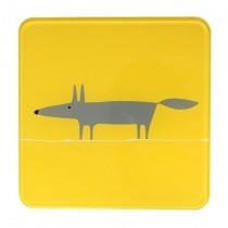 Buy the Scion Living Mr Fox Yellow Hot Pot Stand online at smithsofloughton.com