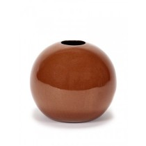 Buy the Serax Ball Vase in Rust Orange at smithsofloughton.com