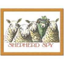 Buy the Shepherd Spy Cushion Lap Tray online at smithsofloughton.com