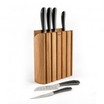 Buy the Signature Book Oak Knife Block Set online at smithsofloughton.com