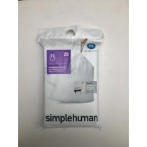 Buy the Simple Human Bin Liner 4550 Litre online at smithsofloughton.com
