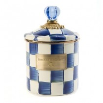 Buy the small MacKenzie-Childs Royal Check Canisters online at smithsofloughton.com