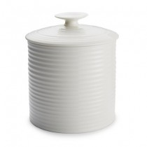 Buy the Sophie Conran for Portmeirion White Large Storage Jar online at smithsofloughton.com