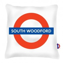 Buy The South Woodford Tube Station Cushions online at smithsofloughton.com