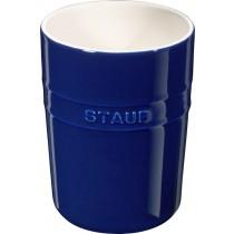 Buy the Staub Blue Ceramic Utensil Holder online at smithsofloughton.com