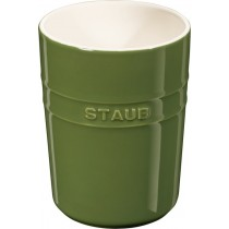 Buy the Staub Green Ceramic Utensil Holder online at smithsofloughton.com