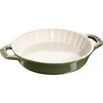 Buy the Staub Green Round Pie Dish online at smithsofloughton.com