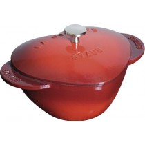Buy the Staub Heart Cocotte in Cherry online at smithsofloughton.com