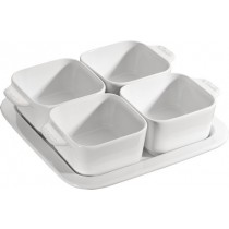 Buy the Staub White Appetizer Set online at smithsofloughton.com