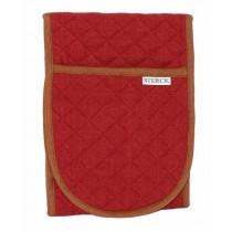 Buy the Sterck Carom Double Oven Glove Two Tone Burgundy online at smithsofloughton.com