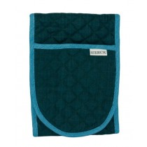 Buy the Sterck Carom Double Oven Glove Two Tone Green and Blue online at smithsofloughton.com