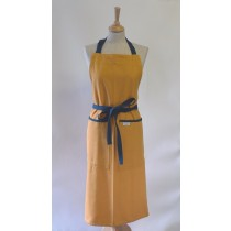 Buy the Sterck Carom Two Tone Denim Apron Yellow online at smithsofloughton.com