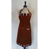 Buy the Sterck Chocolate Brown Waikiki Apron online at smithsofloughton.com