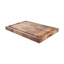 Buy the T&G Tuscany Dual Purpose Rectangular End Grain Board 420 x 280 x 30mm online at smithsofloughton.com