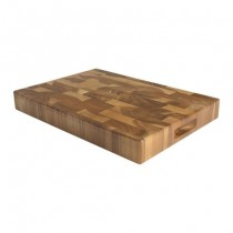 Buy the T&G Tuscany Large Rectangular End Grain Chopping Board 450 x 300 x 40mm online at smithsofloughton.com