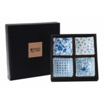 Buy the Tokyo Blue and White Dish Set online at smithsofloughton.com