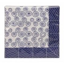 Buy the Tokyo Design Studio Bleu De'nimes Blue Napkin online at smithsofloughton.com