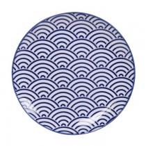 Buy the Tokyo Design Studio Nippon Blue Plates online at smithsofloughton.com