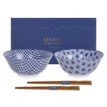 Buy the Tokyo Design Studio Nippon Blue Tayo Giftbox online at smithsofloughton.com