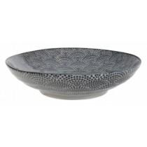 Buy the Tokyo Design Studio Nippon Pasta Bowl Black Dots online at smithsofloughton.com