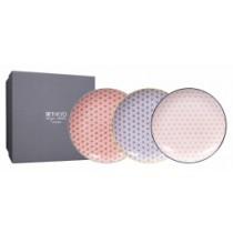 Buy the Tokyo Design Studio Star Wave Set of 3 Plates online at smithsofloughton.com
