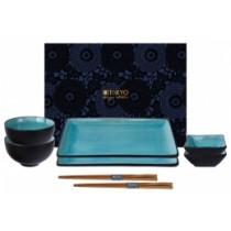 Buy the Tokyo Turquoise Sushi Set online at smithsofloughton.com