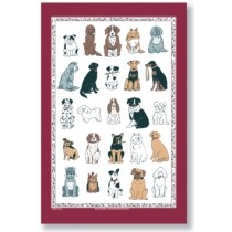 Buy the Ulster Weaver Cotton Tea Towel Dogs Galore online at smithsofloughton.com