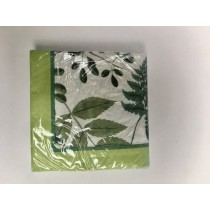 Buy the Ulster Weaver RHS Foliage Paper Napkin  online at smithsofloughton.com
