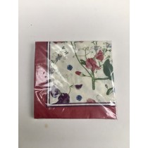 Buy the Ulster Weaver RHS Sweet Pea Paper Napkin online at smithsofloughto.com