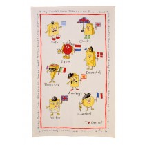 Buy the Ulster Weavers Ann Edwards Cheeses Linen Tea Towel online at smithsofloughton.com