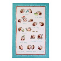 Buy the Ulster Weavers Ann Edwards Hedgehogs Linen Tea Towel online at smithsofloughton.com