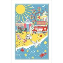 Buy the Ulster Weavers Beach Side Tea Towel online at smithsofloughton.com