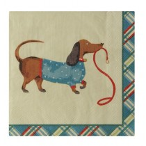 Buy the Ulster Weavers Hound Dog Paper Napkins online at smithsofloughto.com