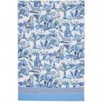Buy the Ulster Weavers India Blue Tea Towel online at smithsofloughton.com