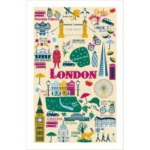 Buy the Ulster Weavers London Calling Tea Towel online at smithsofloughton.com