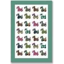 Buy the Ulster Weavers Scottie Dogs Linen Tea Towel online at smithsofloughton.com