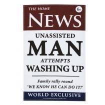 uy the Ulster Weavers Tea Towel Roderick Field News Man Print online at smithsofloughton.com